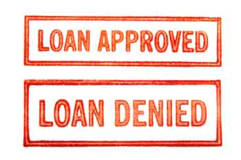 borrowing approved or denied